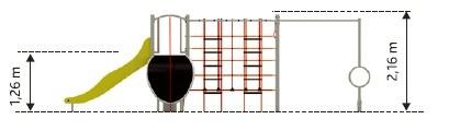 Plac zabaw Zestaw Gemini PLAY-PARK