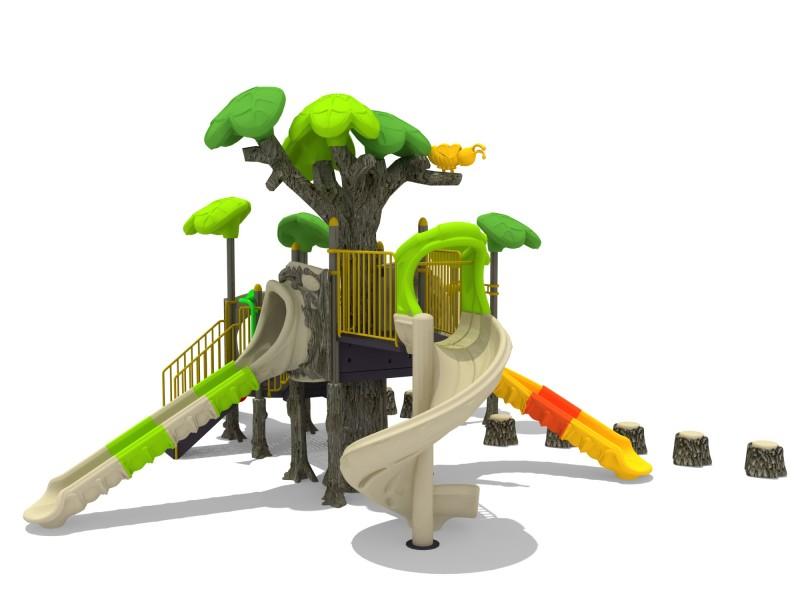 Plac zabaw Zestaw FOREST 3 Play Park