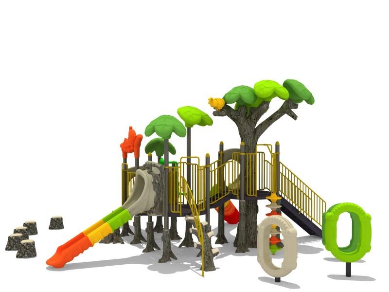 Plac zabaw Zestaw FOREST 4 Play Park