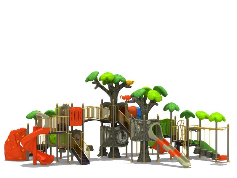 Plac zabaw Zestaw FOREST 9 Play Park