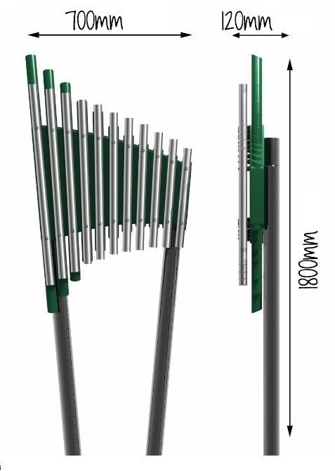 Plac zabaw Instrument muzyczny Kerubo PLAY-PARK
