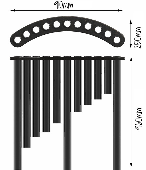 Plac zabaw Instrument muzyczny Sono Maro PLAY-PARK