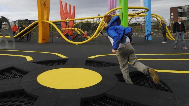 Plac zabaw Trampolina Circle 60 Play Park