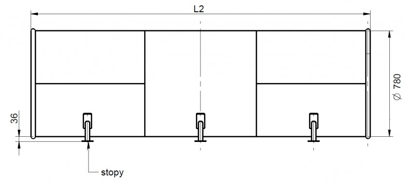 Plac zabaw Tunel skarpowy 400 - standard PLAY-PARK
