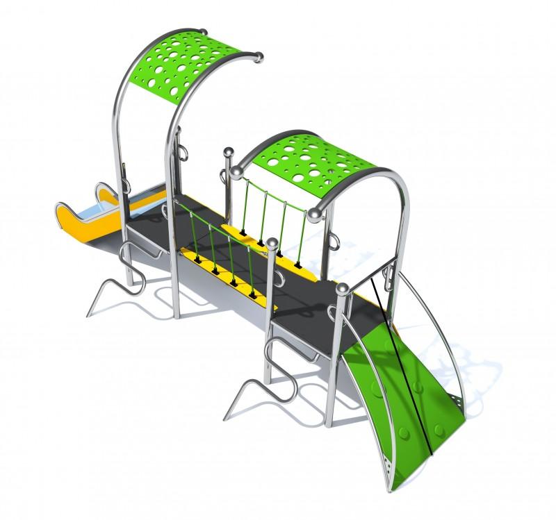 Plac zabaw Wyposażenie placu zabaw Dometo 2-1 Play Park