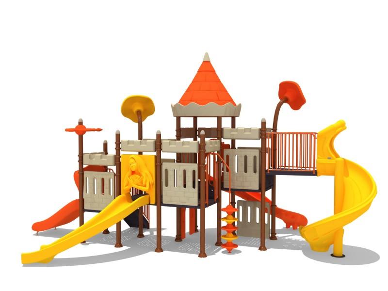 Plac zabaw Zestaw Zamek  3 PLAY-PARK