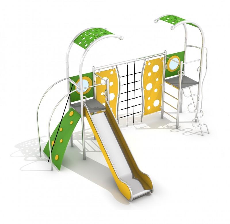 Urządzenia Na Plac Zabaw Zestaw Domo 2-1