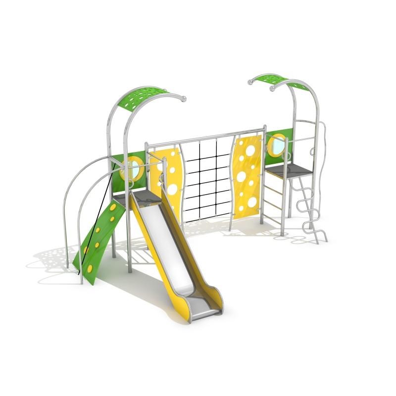Zjeżdżalnia dla dzieci Zestaw Domo 2-1