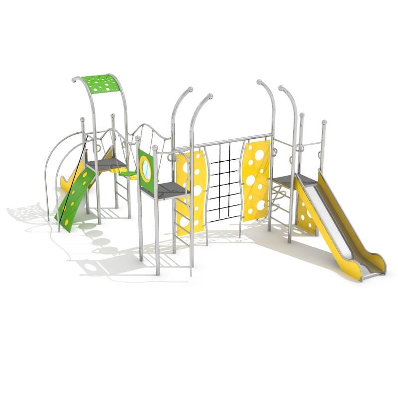 Zjeżdżalnia dla dzieci Zestaw Domo 3-1