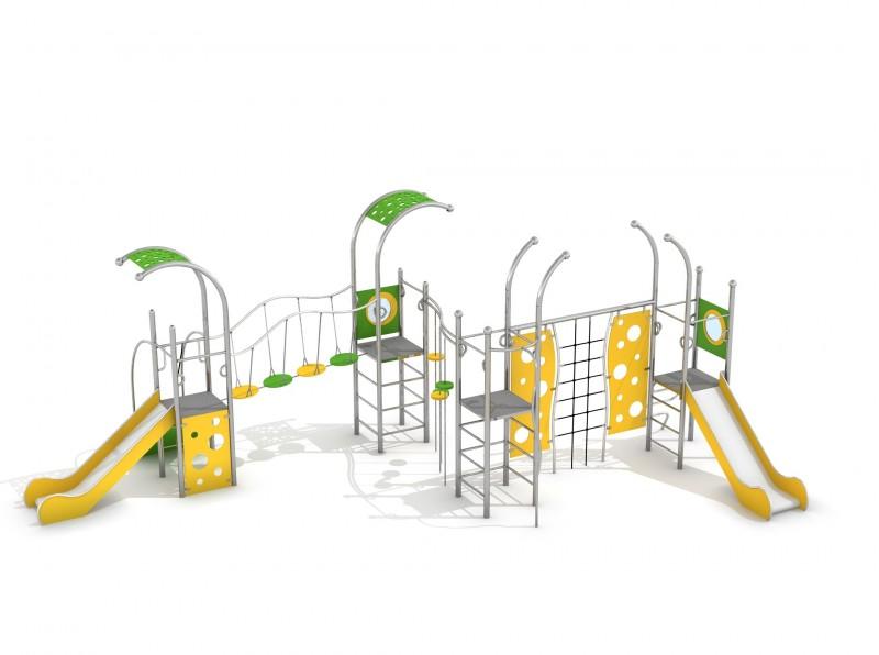 Urządzenia Na Plac Zabaw Zestaw Domo 4-1