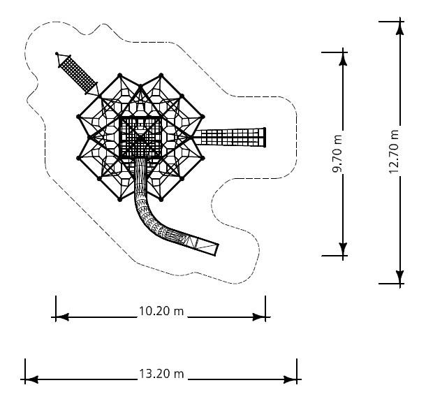 Plac zabaw Linarium Dufourspitze 5 Play Park