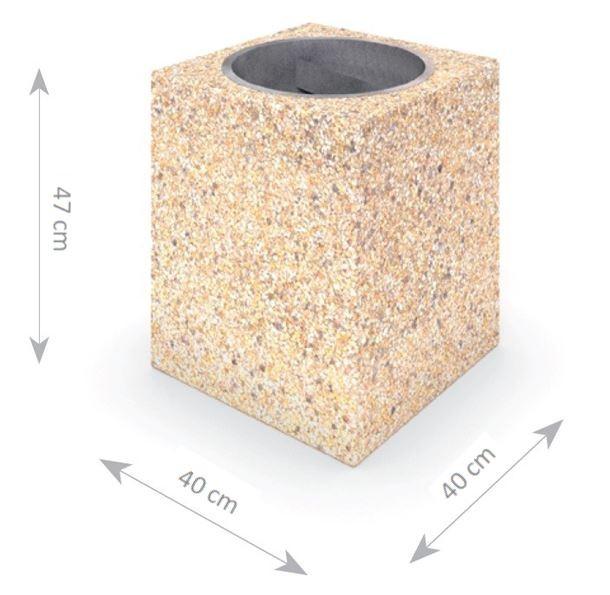 Plac zabaw Kosz betonowy 01 PLAY-PARK
