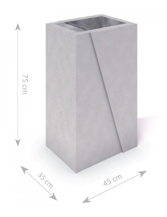 Plac zabaw Kosz betonowy DECO  B 01 PLAY-PARK