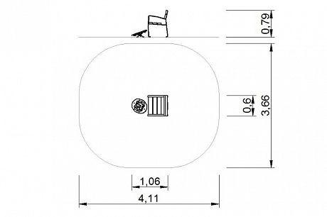 Plac zabaw Zestaw ławka z ruchomą platformą zawierającą labirynt 1 PLAY-PARK