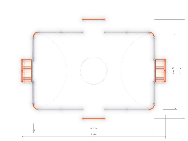 Plac zabaw ARENA 1a (11x7m) PLAY-PARK
