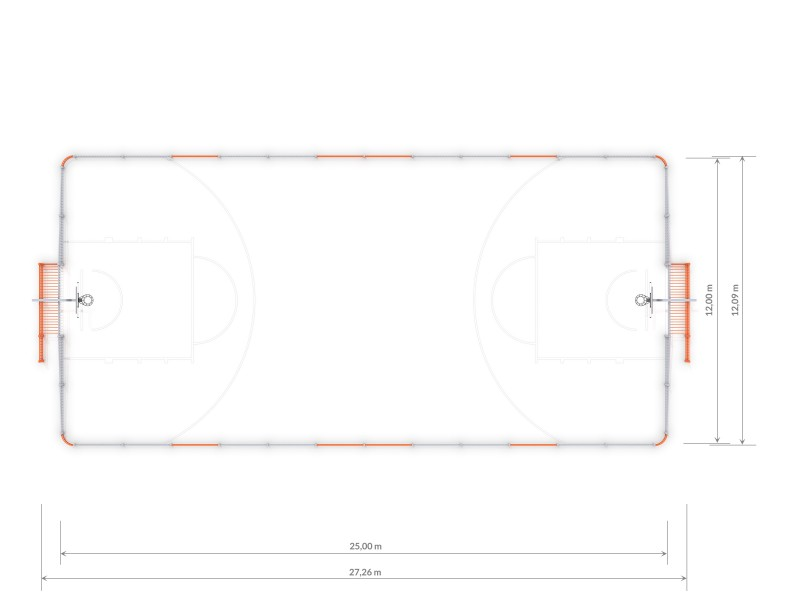 Plac zabaw ARENA 2 (25x12m) PLAY-PARK