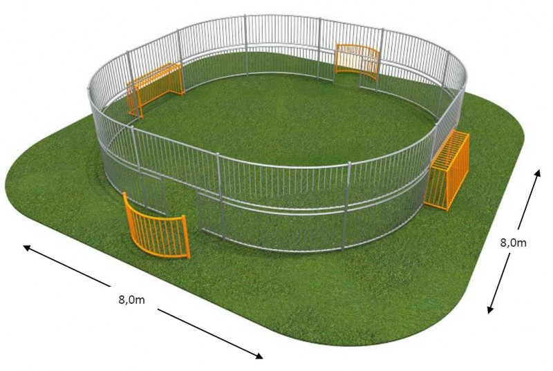 Plac zabaw SOCCER RING 1 Play Park