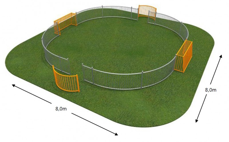 Plac zabaw SOCCER RING 2 Play Park