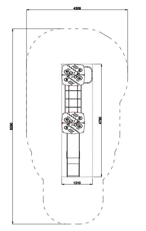 Plac zabaw Zestaw Avelo 2-5 PLAY-PARK