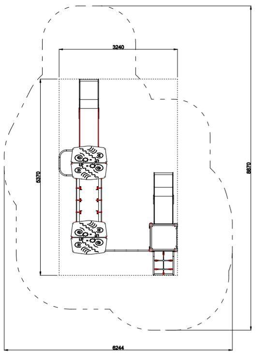 Plac zabaw Zestaw Avelo 3-4 PLAY-PARK