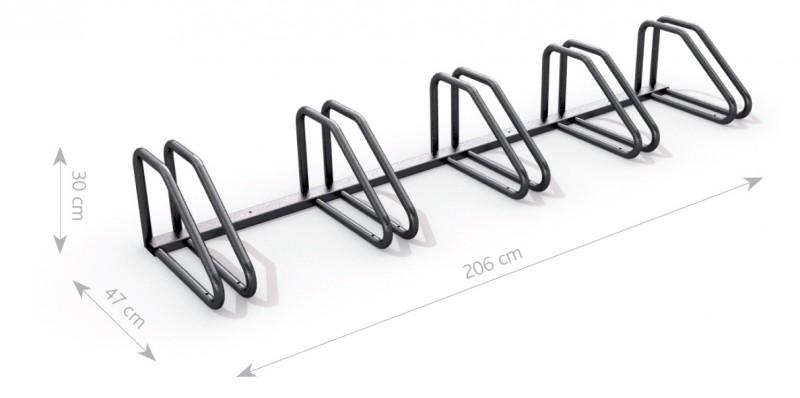 Plac zabaw Stojak rowerowy stalowy 01 PLAY-PARK