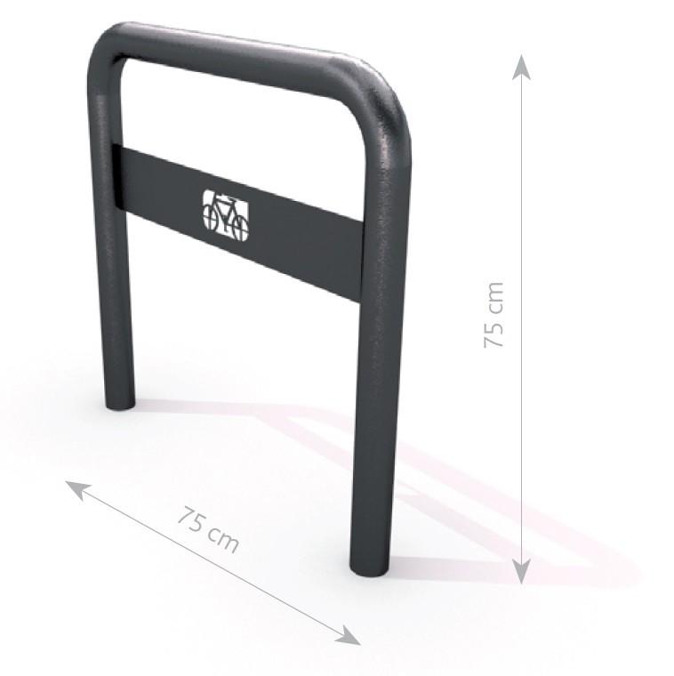 Plac zabaw Stojak rowerowy stalowy 04 PLAY-PARK