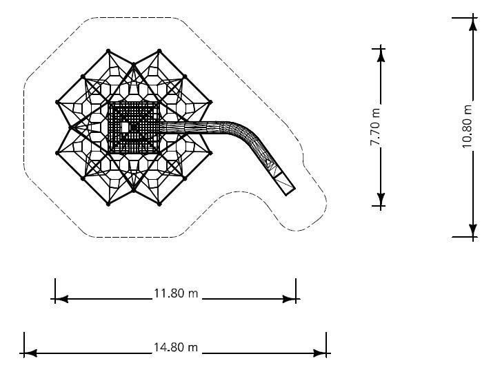 Plac zabaw Linarium Mont Blanc 3 PLAY-PARK