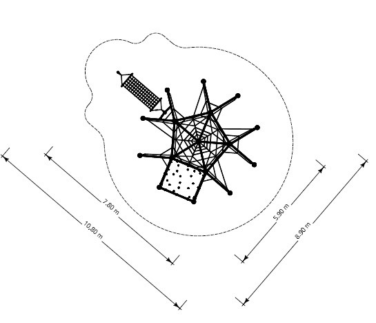 Plac zabaw Linarium Skyclimber 1 Play Park
