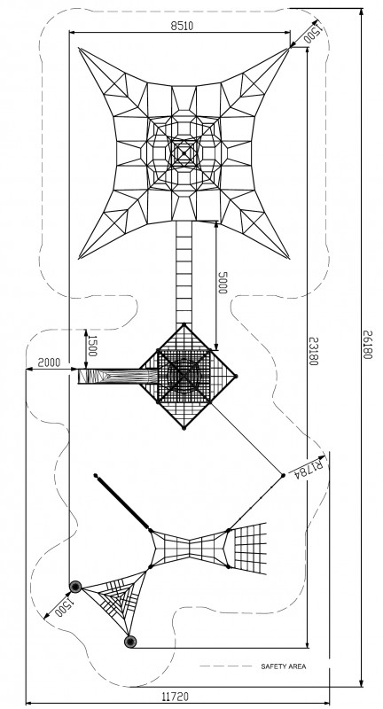 Plac zabaw Linarium Combo 12 PLAY-PARK