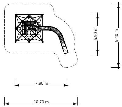 Plac zabaw Linarium Monte Bianco 3 PLAY-PARK