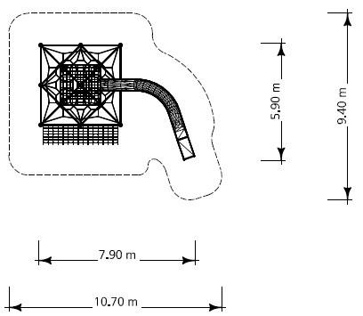 Plac zabaw Linarium Monte Bianco 5 PLAY-PARK