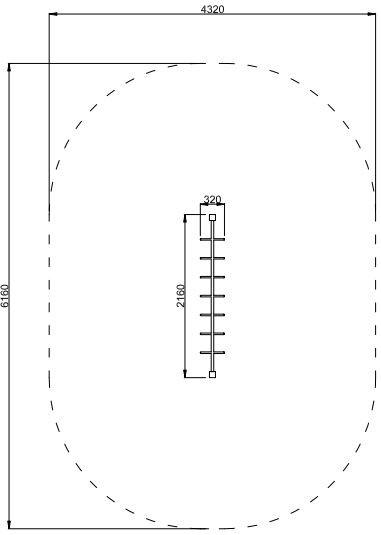 Plac zabaw Drążek z rączkami PLAY-PARK