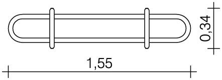 Plac zabaw Rynna z odpływem dolnym 1,3 m PLAY-PARK
