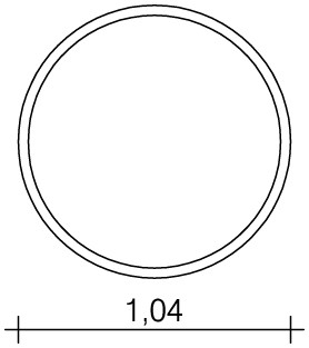 Plac zabaw Okrągły stół wodny 0,25 m PLAY-PARK