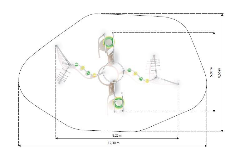 Plac zabaw Zestaw Eskalo 7 Play Park