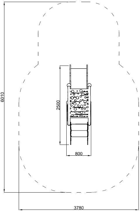Plac zabaw Zestaw Infano 3 PLAY-PARK