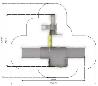 Plac zabaw Zestaw integracyjny Kajo 3 PLAY-PARK