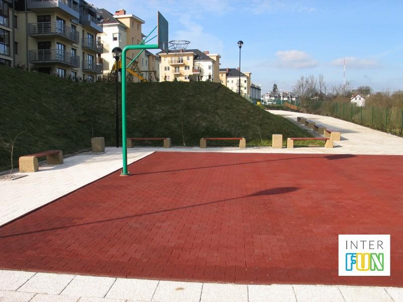 Plac zabaw Nawierzchnia sportowa PLAY-PARK