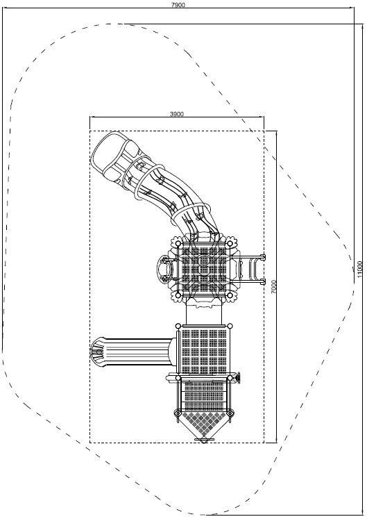 Plac zabaw Zestaw Cars 5 PLAY-PARK