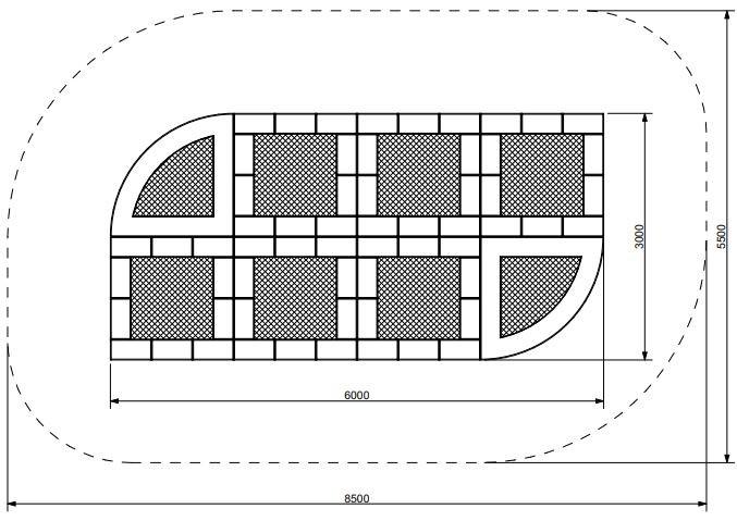 Plac zabaw Trampolina Tuto 15 PLAY-PARK