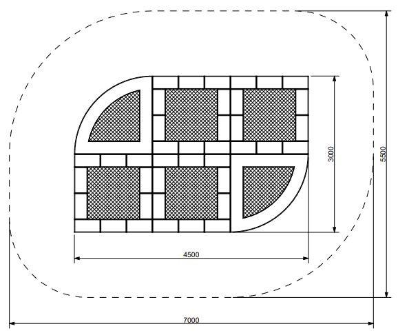 Plac zabaw Trampolina Tuto 16 PLAY-PARK