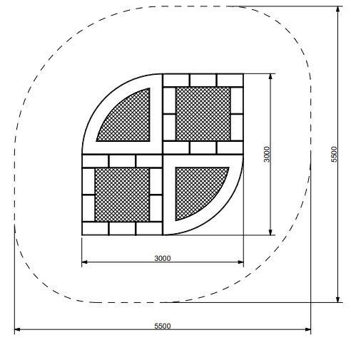 Plac zabaw Trampolina Tuto 17 PLAY-PARK
