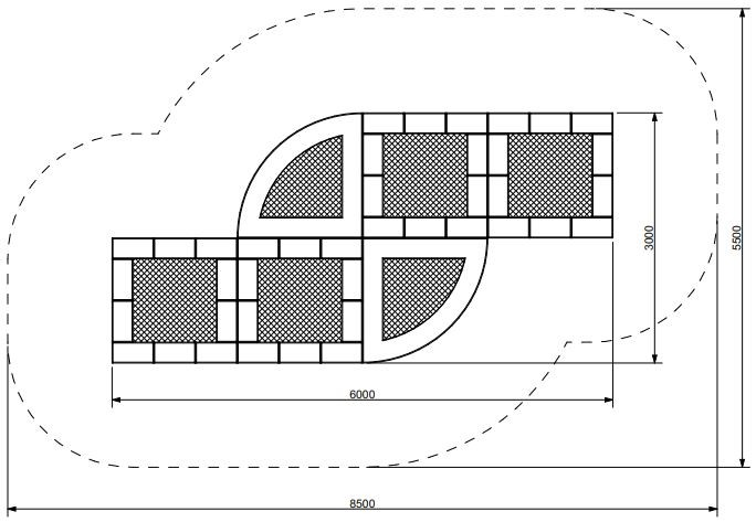Plac zabaw Trampolina Tuto 18 PLAY-PARK