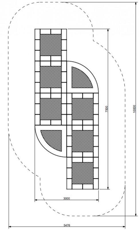 Plac zabaw Trampolina Tuto 19 PLAY-PARK