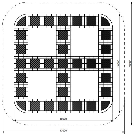 Plac zabaw Trampolina Tuto 27 PLAY-PARK