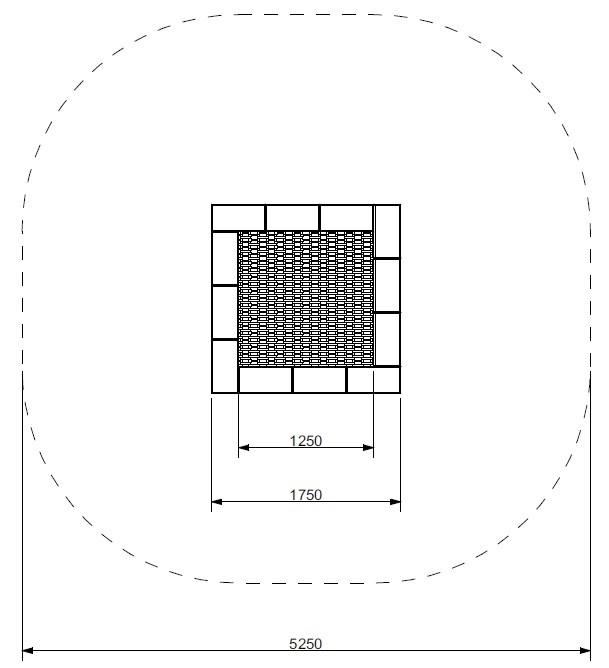 Plac zabaw Trampolina Pako 175 PLAY-PARK