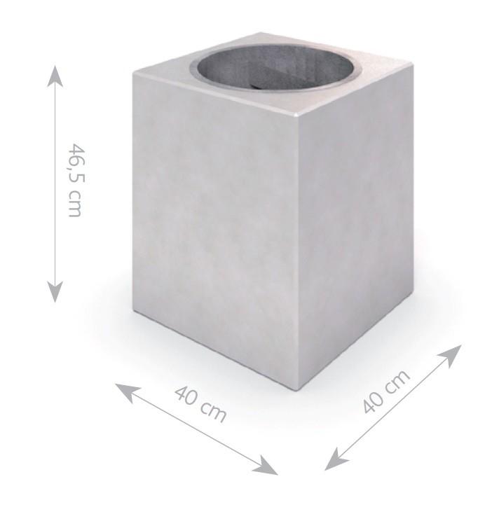 Plac zabaw Kosz betonowy DECO B 02 PLAY-PARK