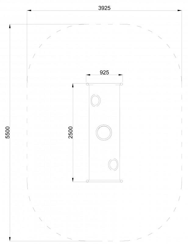Plac zabaw Tuba 250 PLAY-PARK