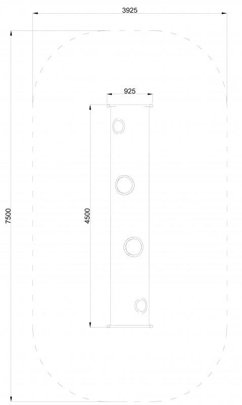 Plac zabaw Tuba 450 PLAY-PARK