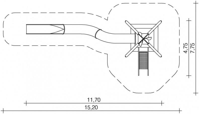 Plac zabaw Zestaw Wieża 6 PLAY-PARK
